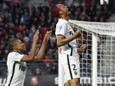 Fabinho adoraria voltar a jogar com Mbappé. AFP