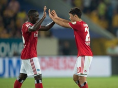 Salzburg closes the door on Hwang Hee-chan. AFP