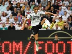 Sané n'en veut pas à Pep Guardiola. AFP