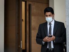 Al-Khelaïfi conocerá su sentencia por presunta corrupción este viernes. AFP