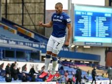 Everton drew 1-1. AFP