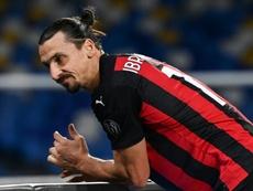 Zlatan admitió que su mentalidad es parecida a la de Michael Jordan. AFP