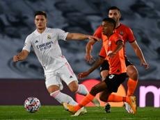 Zidane récupère Jovic et Odriozola. AFP