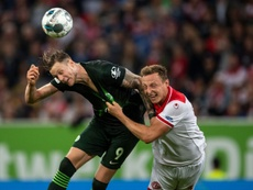 Weghorst le hizo un 'guiño' al Arsenal. AFP