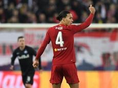 Van Dijk se encaixaria no futebol espanhol. AFP