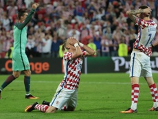 Croatia were the most FIFA sanctioned team at the World Cup in Russia. AFP