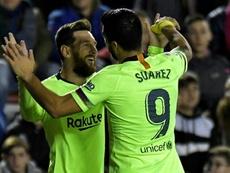 Levante  FC Barcelona Luis Suárez. EFE