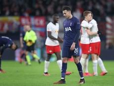 El Tottenham, en crisis. AFP/Archivo
