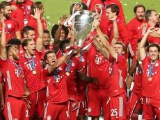 Le XI UEFA de l'année voté par les fans. afp