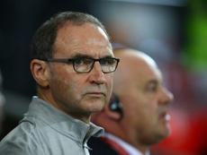 Martin O'Neill dirigirá al Nottingham Forest tras la dimisión de Karanka. AFP/Archivo