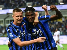 Zapata could return for Atalanta against Juve. AFP