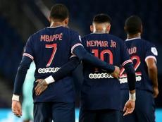 Mbappé acaba contrato en 2022. AFP