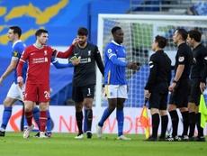 Brighton prive Liverpool de sa victoire en toute fin de match. AFP