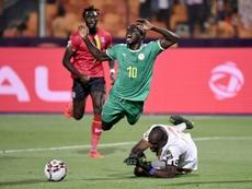 Sadio Mané hizo el único gol del partido. AFP