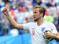 Kane was the top scorer at the 2018 World Cup. AFP