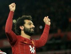 Salah could miss the match. AFP