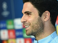 Assistant coach Mikel Arteta will replace suspended Pep Guardiola in the Manchester City dugout. AFP