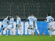 L'Inter vince contro il Gladbach. AFP