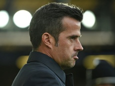 Silva's Everton side have slumped in recent weeks. AFP