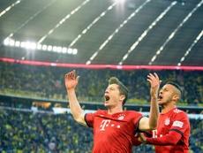 'Manita' et option sur le titre pour le Bayern dans le Klassiker. AFP