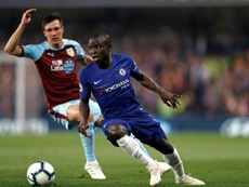 Caballero understands Kante's decision to refuse to return to training. AFP