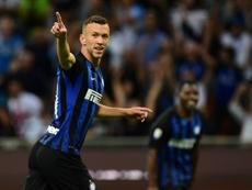 Perisic podría salir del Inter. AFP