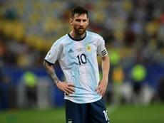 Le retour du Messi. AFP