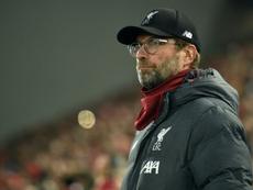 Klopp ne croit pas en la venue de Mbappé à Liverpool. AFP