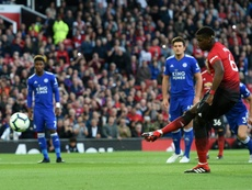 Pogba opened the scoring. AFP