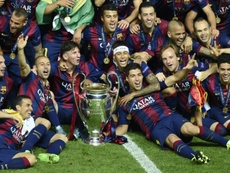 Ivan Rakitic recordó la Champions de Berlín. AFP