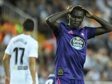 Pione Sisto negó haber pagado 60.000 euros de multa. AFP