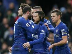 O Chelsea venceu o Fulham. AFP