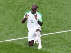 Sadio Mané signe la meilleure saison de sa vie. AFP