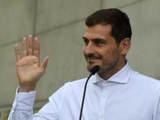 As contas de Casillas para ser presidente da Federação Espanhola. AFP