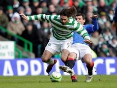Samaras fue la referencia del Celtic durante varios años. AFP