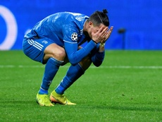 Aulas criticou Cristiano Ronaldo. AFP