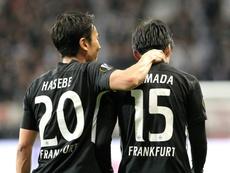 Frankfurt bate o Wolfsburg nos minutos finais. EFE