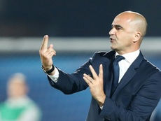 Roberto Martínez is pleased with the group. AFP