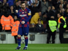 Messi, assurance-but pour les nouveaux entraîneurs. AFP
