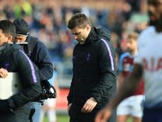 L'entraîneur de Tottenham est heureux à Londres. AFP