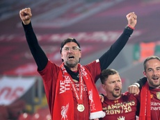 Klopp élu entraîneur de l'année pour la Premier League. AFP