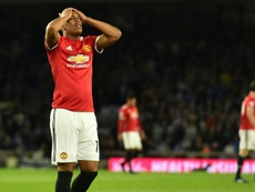 Martial is still thought to be keen on a move away from Manchester United. AFP