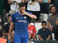 Giroud pide hablar con Lampard o marcharse. AFP