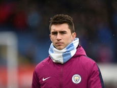 Laporte had a choice to make. AFP