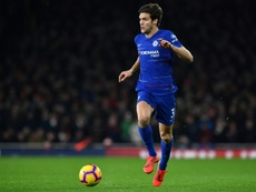Could Marcos Alonso be on his way out? AFP