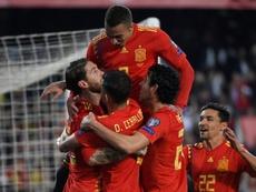 Spain beat Norway 2-1 on Saturday. AFP