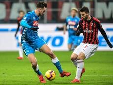 Guardiola veut faire jouer ses atouts avec Fabián. AFP