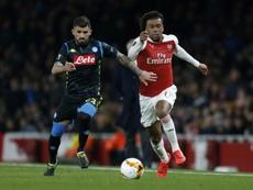 Everton annonce l'arrivée d'Alex Iwobi. AFP