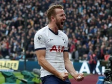 Alarma Kane: o atacante abriu as portas do Tottenham. AFP