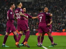 City claimed their fifth English top-flight title. AFP